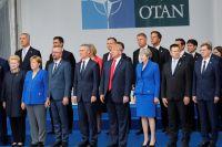 Саммит НАТО в Брюсселе.