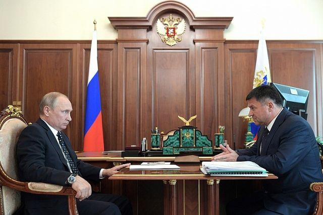 Президент России и глава Приморья решали важные вопросы Приморья.