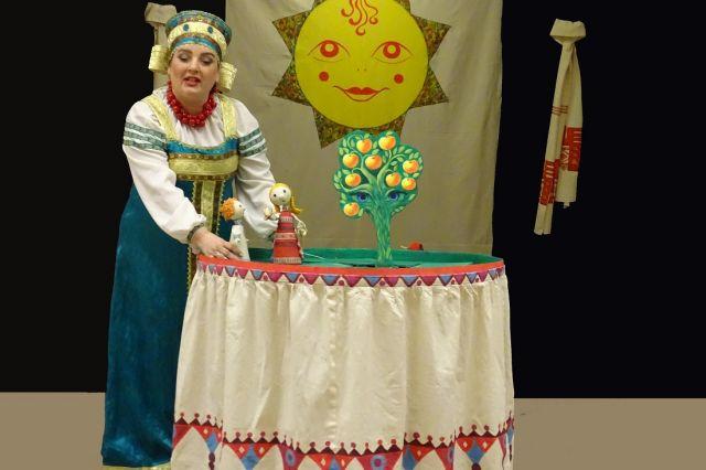Русская сказка для приморских детей начинается...