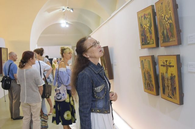 В художественной галерее проходит выставка «Пермская икона. ХХI век».