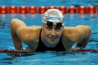 Анастасия Фесикова победила на дистанции 200 метров на спине.