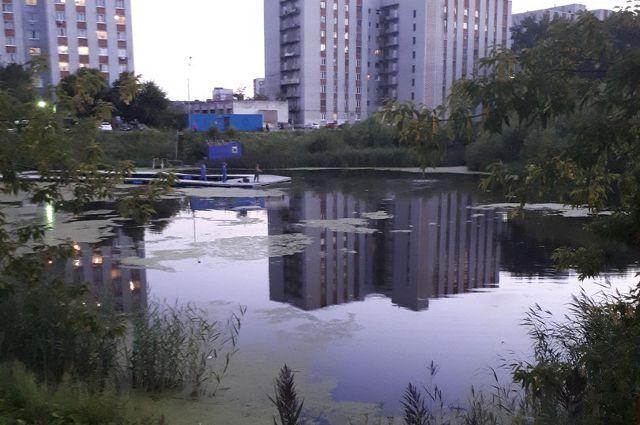 В районе ДОКа «Красный Октябрь» утонул автомобиль