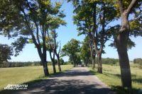Автомобилистов просят объезжать участок дороги Романово - Калининград.