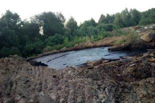 Площадь загрязнённого участка – более трёх тысяч квадратных метров.