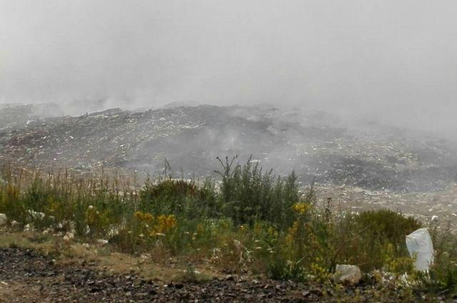 В Медногорске зафиксировано превышение ПДК по формальдегиду после пожара на свалке ТБО.