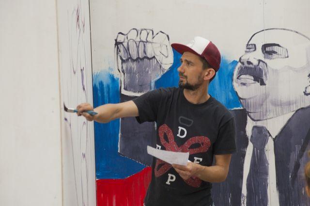 В Омске нарисуют Черчесова.