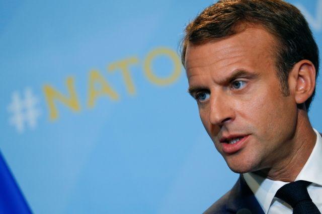 Макрон: страны НАТО самостоятельно решают вопрос о «Северном потоке - 2»