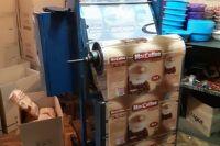 В Херсоне подпольный цех подделывал кофе известной марки