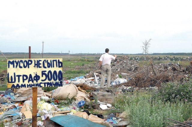 В Омске ликвидируют стихийные свалки.