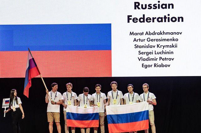 Заслуженное золото. Школьники Москвы победили на международной олимпиаде