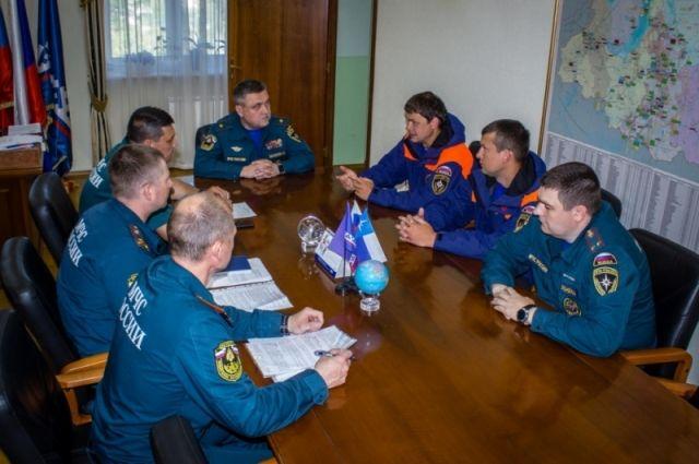 Сотрудники МЧС обеспечат безопасность волонтеров на острове Вилькицкого