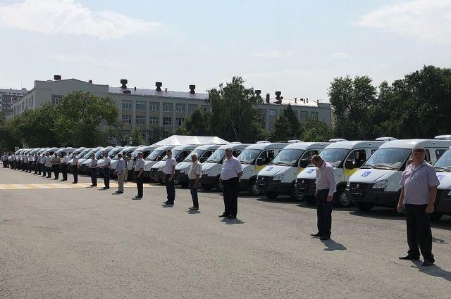 В Тюменской области обновили автопарк социального такси