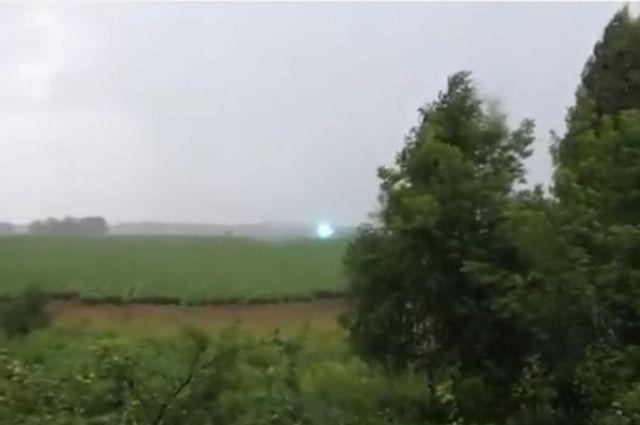 Жительница Прикамья сняла навидео редкое природное явление— Шаровая молния