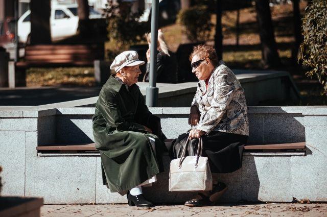В Тюмени пенсионеры поддерживают волонтерство