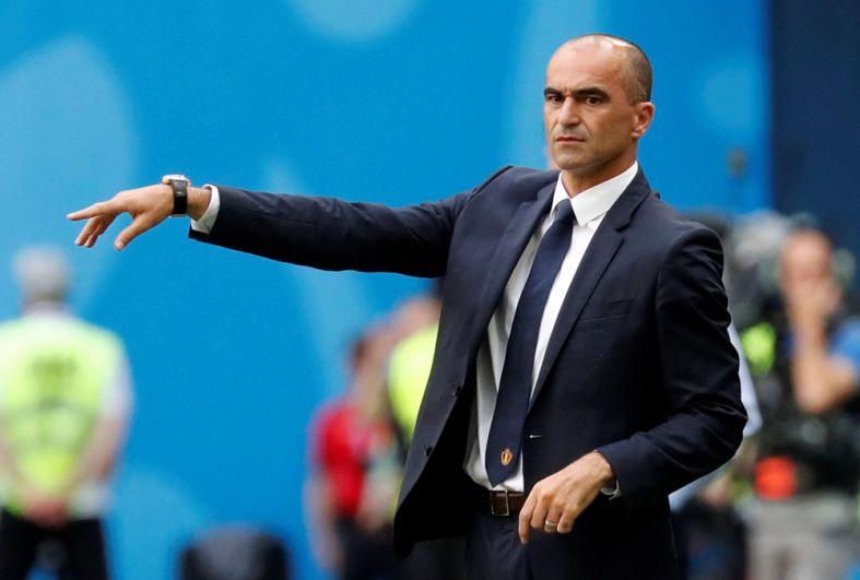 Тренер сборной Бельгии Роберто Мартинес.