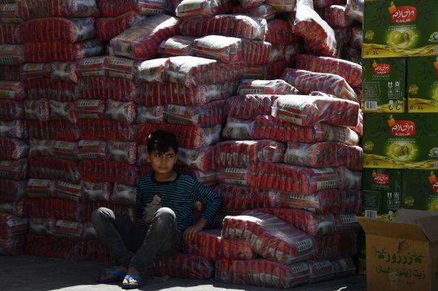 Российская Федерация отправила вСирию неменее 30 тонн гуманитарной помощи