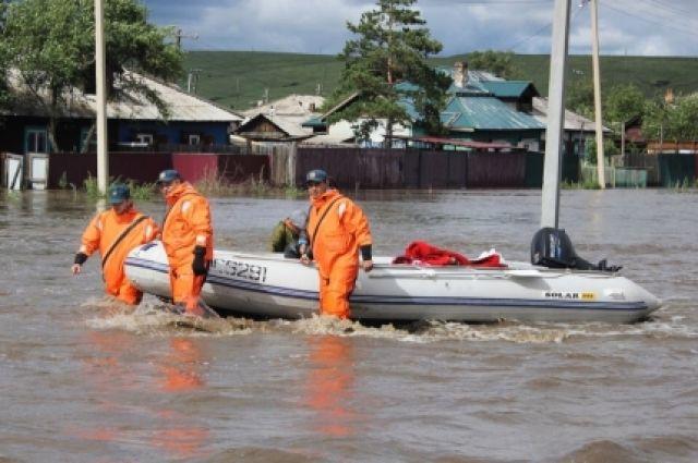 ВЗабайкалье 18 населённых пунктов остаются подтопленными