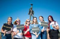 Горожане, участвующие в мероприятии, могли сделать сэлфи и выложить фотографии в социальных сетях с хэштэгом #МОЙГОРОДМОЯЮГРА