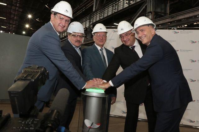 Металлоинвест запустил на Уральской Стали комплекс обработки металлопроката.