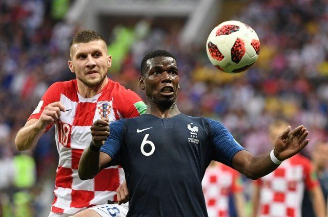 Сборная Франции выиграла чемпионат мира по футболу в России