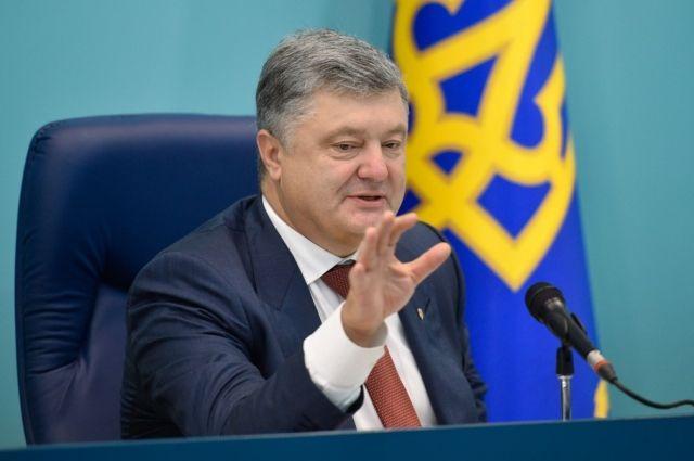 Порошенко призвал к борьбе за автокефалию УПЦ