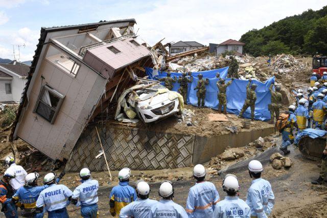 Ущерб от наводнений в Японии составил 389 мл долларов