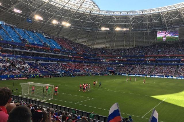 Матчи ЧМ-2018 посетили свыше 3 млн человек
