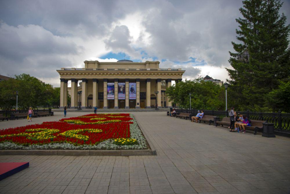 Многих жителей Новосибирска и туристов привлекает для прогулок центр города.