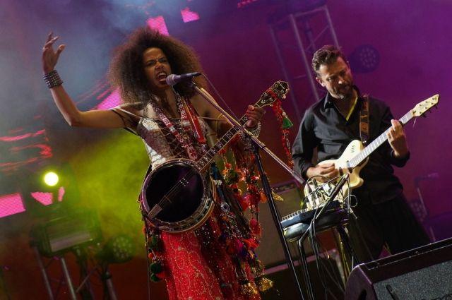 18 тыс. человек посетили первый концерт фестиваля.