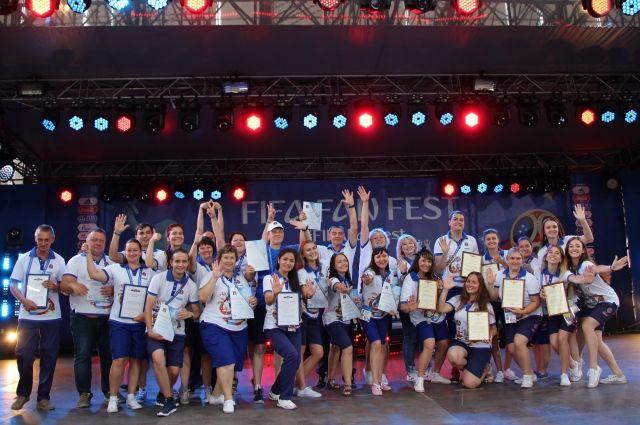 Волгоградских волонтеров поблагодарили запомощь впроведенииЧМ
