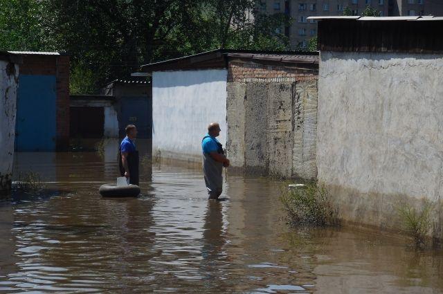Гаражные кооперативы Читы - в зоне подтопления.