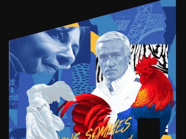 К финалу между Францией и Хорватией в Казани подготовили граффити-коллаж. На нем изображен главный тренер сборной Франции Дидье Дешам, петух - символ страны - и мэр Парижа Анн Идальго. Казань решила поддержать Францию, так как с Парижем у города заключено соглашение о сотрудничестве.