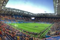 На большинстве стадионов будут проходить матчи РФПЛ.