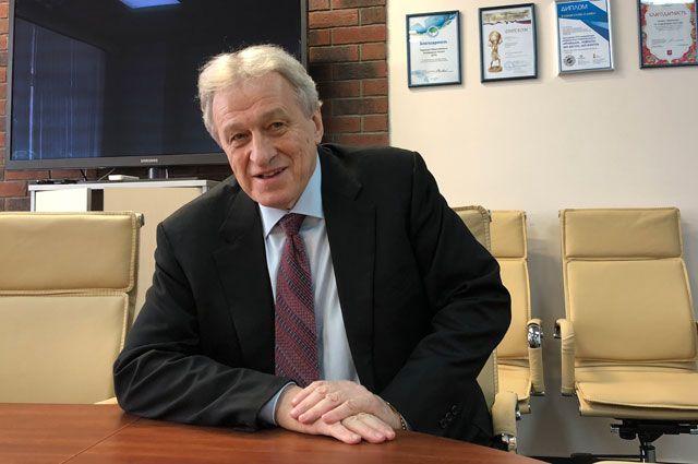 Президент Специальной Олимпиады России, депутат Государственной думы Юрий Смирнов.