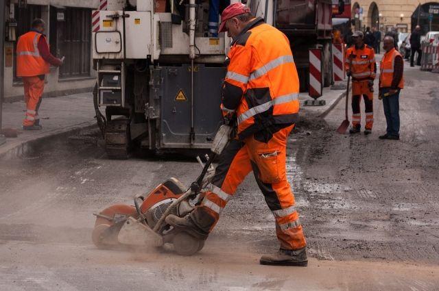Вцентре Петербурга начали 2-ой этап ремонта дорог