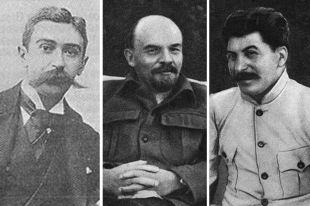 Пьер де Кубертен, Владимир Ленин, Иосиф Сталин.