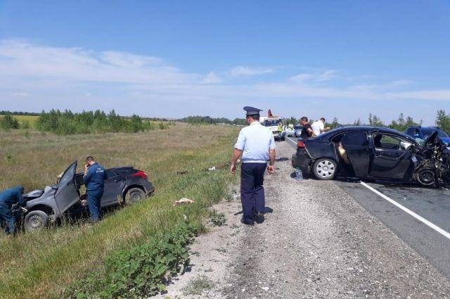 Наоренбургской трассе вДТП погибли 4 человека— Лоб влоб