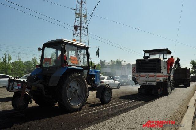 Дороги в селах отремонтируют.