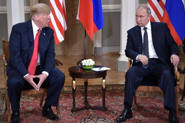 Встреча сПутиным была успешна для всех, кроме распространяющих фейки СМИ— Трамп