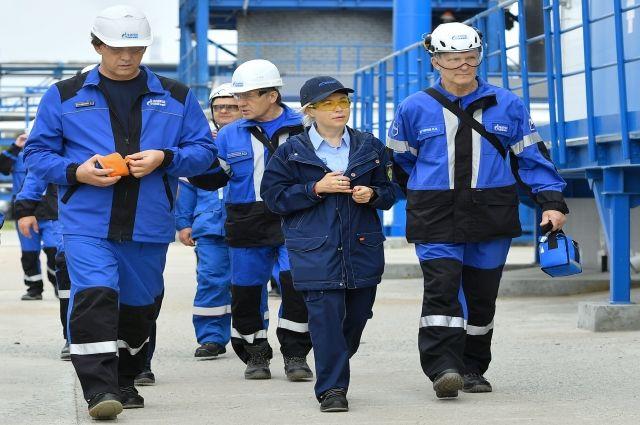 Представители федеральной структуры побывали на заводе.