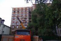После пожара дом капитально ремонтируют.