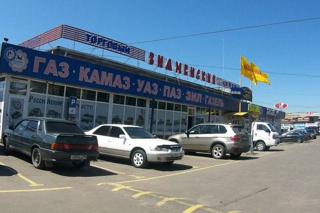 Рынок «Знаменский» - один из самых посещаемых.