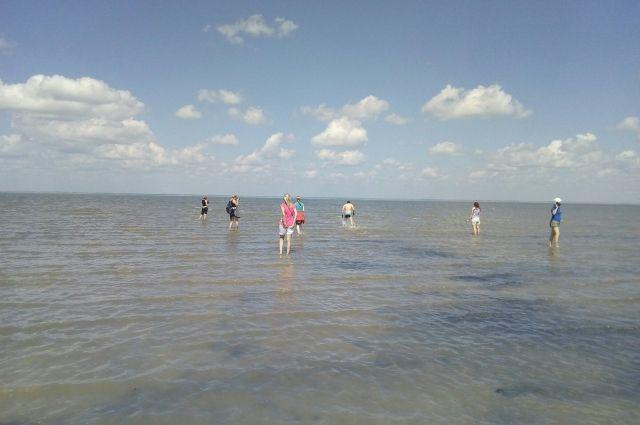 Омичи очень любят посещать озеро Эбейты, хотя дойти до него непросто.