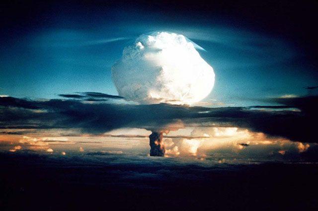 ядерная война - самоуничтожение
