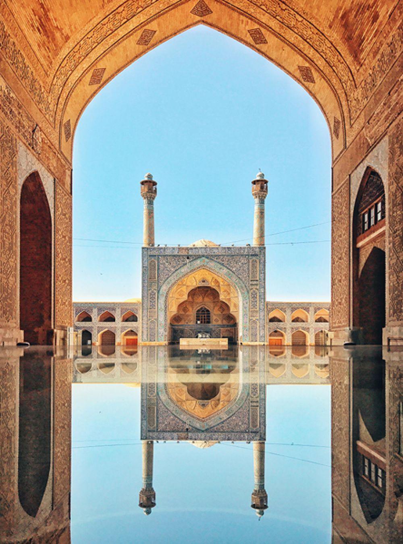 КуангЛонг Чан, Китай. 2-е место в категории «Архитектура». Мечеть Джами в Исфахане, Иран. Снято на iPhone 7.