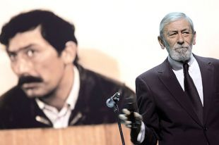 Певец Вахтанг Кикабидзе.