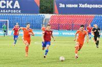 В стартовом матче команда Хабаровска одержала крупную победу 3:00