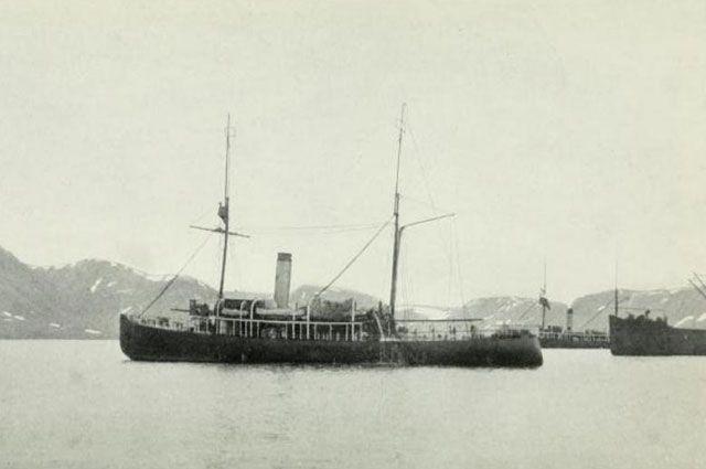 Ледокольные пароходы «Таймыр» и «Вайгач», 1913 год.
