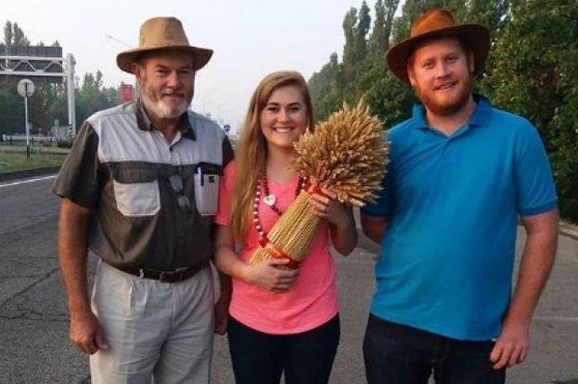 Семья Шлебуш готова выращивать пшеницу в России.