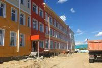 В Тарко-Сале достраивают новую школу-интернат